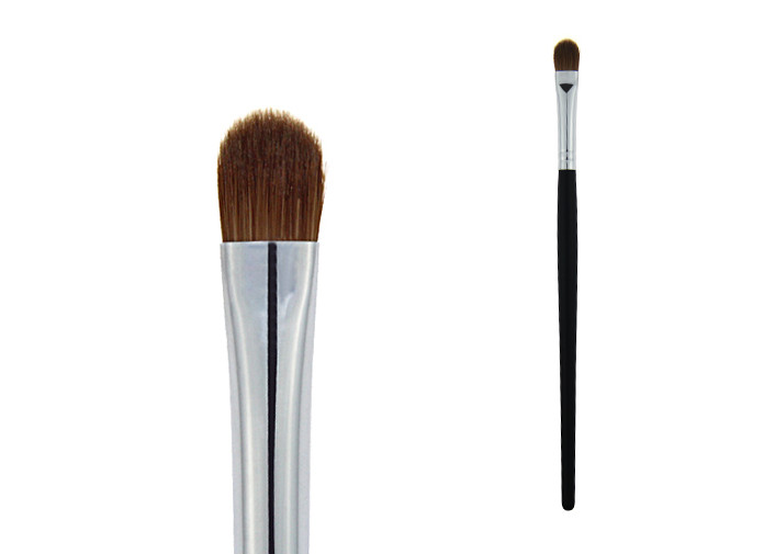 Full Function 173mm Length Black Eye Makeup Blending Brush Light Weight