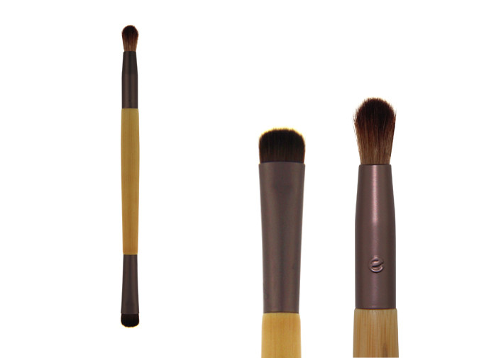 Bamboo Handle Mini Makeup Blending Brush Cosmetic Weasel Hair 163mm