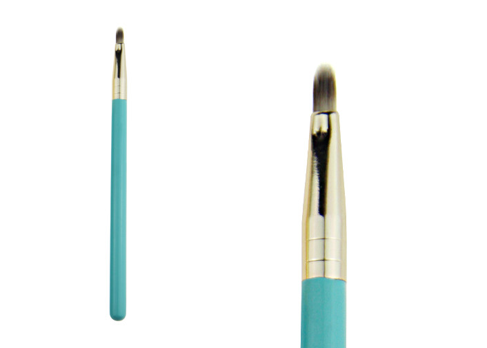 Small All Natural Lip Liner Brush Makeup Pencil Brush With Nylon Hair