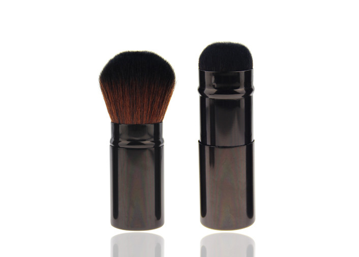 Travel Size Tapered Retractable Makeup Brush Foundation Application Brush
